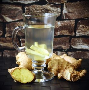 Ginger and a ginger shot
